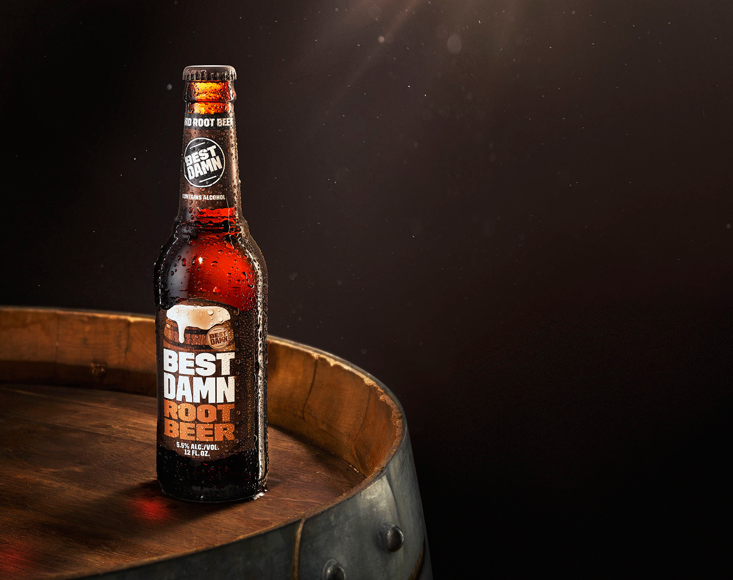 Adrian Mueller  Best Damn Root Beer Photographer New York Food Still Life Liquids