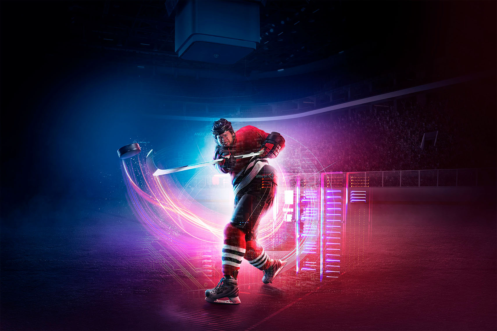 Manipula Retouching, CGI, photography.  Retouching artist, cgi artist, automotive retoucher.veberage retoucher.  002_Manipula_0590_Intel_Hockey_01